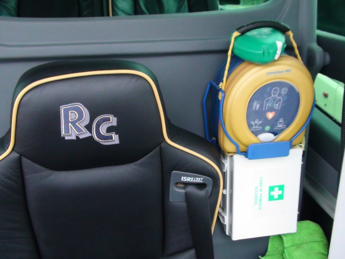 We are the only Transport company on the island with an Automated External Defibrillator