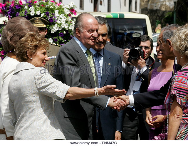 Delegation of Juan Carlos and Sofia (kings of Spain)